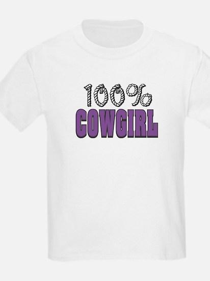 100% Cowgirl Kids T-Shirt