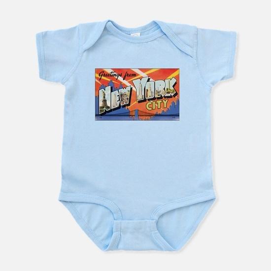 New York.jpg Infant Bodysuit
