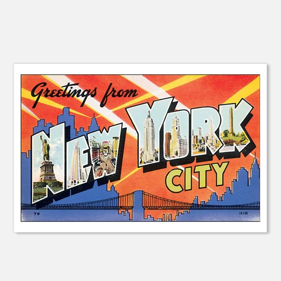 New York.jpg Postcards (Package of 8)