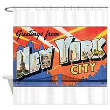 New York.jpg Shower Curtain