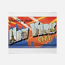 New York.jpg Throw Blanket