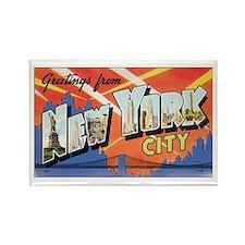 New York.jpg Rectangle Magnet