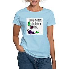 I Whine & Wine Women's Pink T-Shirt