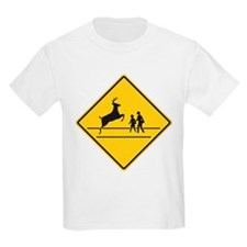School & Deer Crossing T-Shirt