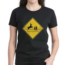 School & Deer Crossing Tee