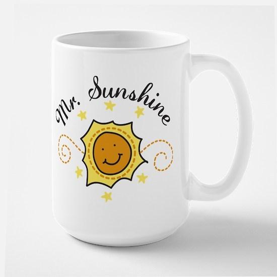 Mr. Sunshine Large Mug