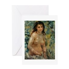 Renoir - Nude in the Sunlight Greeting Card