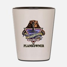PLANKOWNER SSN 781 Shot Glass