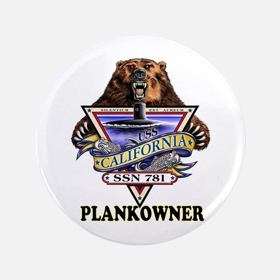 """PLANKOWNER SSN 781 3.5"""" Button"""