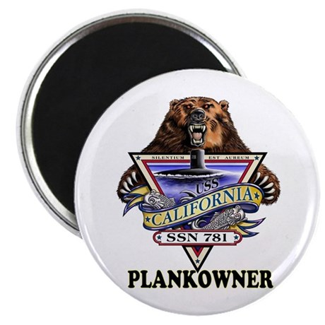 PLANKOWNER SSN 781 Magnet