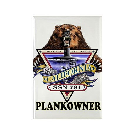 PLANKOWNER SSN 781 Rectangle Magnet