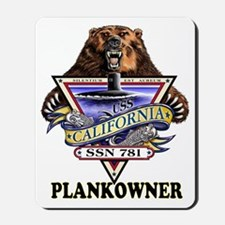 PLANKOWNER SSN 781 Mousepad