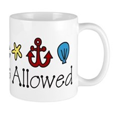 No Shoes Allowed Mug