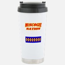 MUSCOGEE NATION Travel Mug