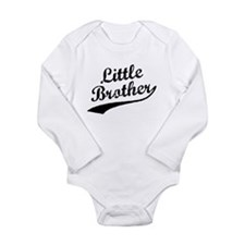 Little Brother (Black Text) Body Suit