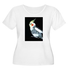 GRAY AND WHITE COCKATIEL T-Shirt