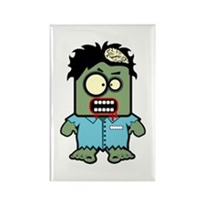 Cute Zombie Character Rectangle Magnet