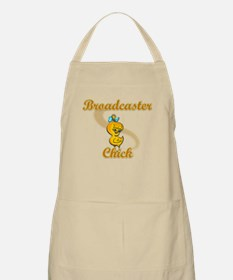 Broadcaster Chick #2 Apron