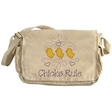 Chicks Rule Messenger Bag