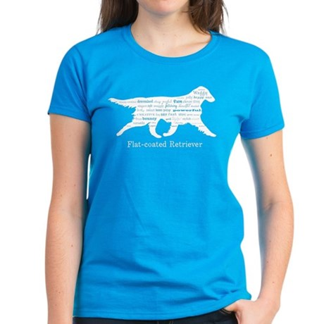 Flat-coated Retriever Women's Dark T-Shirt