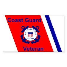 Coast Guard Veteran Decal
