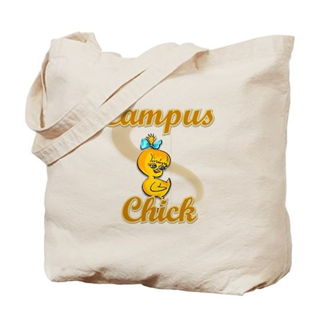 Campus Chick #2 Tote Bag