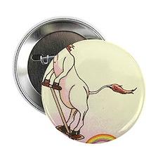 "Magical Pogo Unicorn 2.25"" Button"