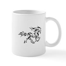 Tribal flame horse Mug