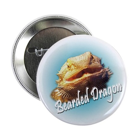 "Bearded Dragon Close Up 2.25"" Button (10 pack)"