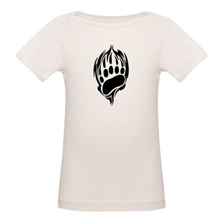 Tribal Bear Claw Organic Baby T-Shirt
