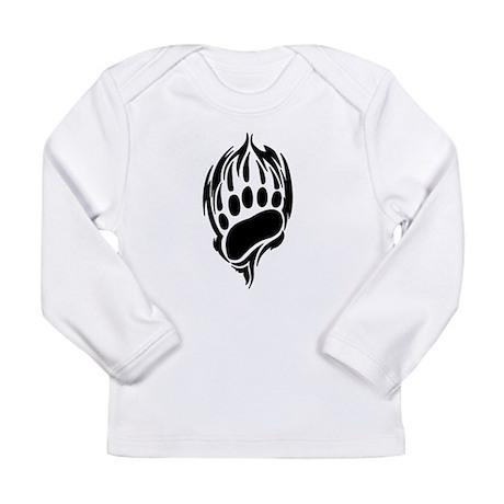 Tribal Bear Claw Long Sleeve Infant T-Shirt