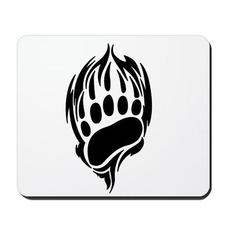 Tribal Bear Claw Mousepad