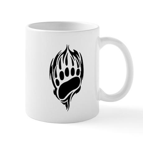 Tribal Bear Claw Mug