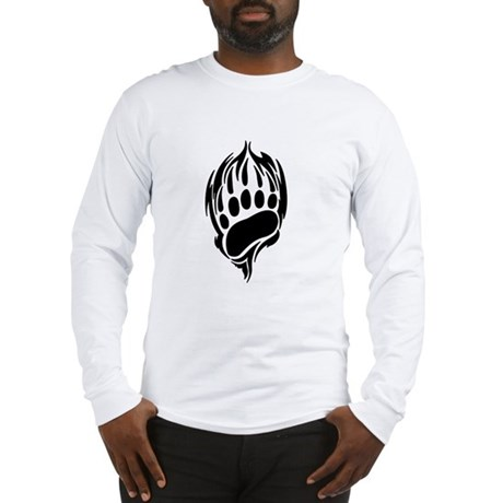 Tribal Bear Claw Long Sleeve T-Shirt