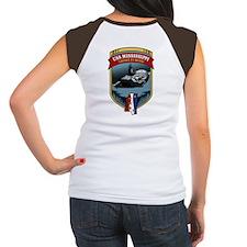 USS Mississippi Pride! Women's Cap Sleeve T-Shirt
