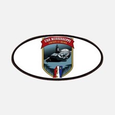 USS Mississippi SSN 782 Patches