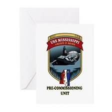 SSN 782 PCU Greeting Cards (Pk of 10)