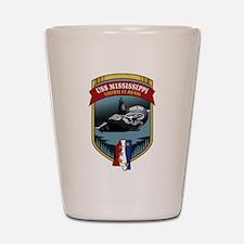 USS Mississippi SSN 782 Shot Glass