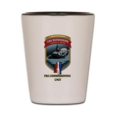 SSN 782 PCU Shot Glass