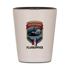 PLANKOWNER SSN 782 Shot Glass