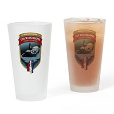 USS Mississippi SSN 782 Drinking Glass