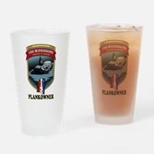 PLANKOWNER SSN 782 Drinking Glass