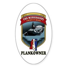 PLANKOWNER SSN 782 Decal