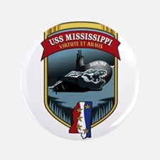 """USS Mississippi SSN 782 3.5"""" Button"""