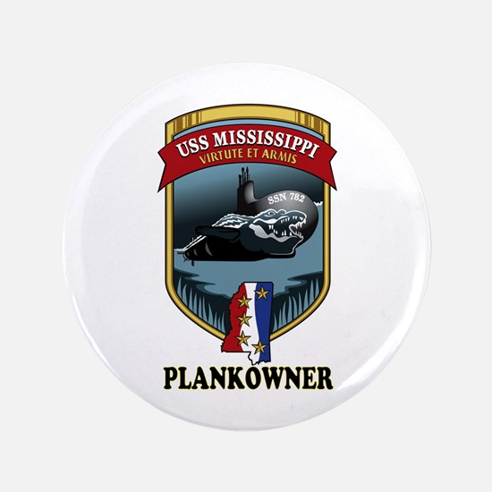 """PLANKOWNER SSN 782 3.5"""" Button"""