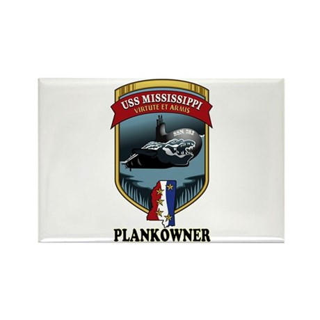 PLANKOWNER SSN 782 Rectangle Magnet
