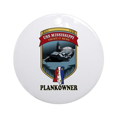 PLANKOWNER SSN 782 Ornament (Round)