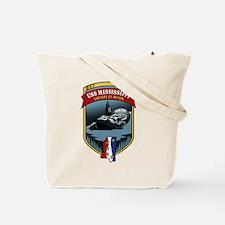 USS Mississippi Pride! Tote Bag
