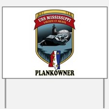 PLANKOWNER SSN 782 Yard Sign