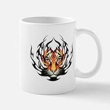 Tribal Flame Tiger Mug